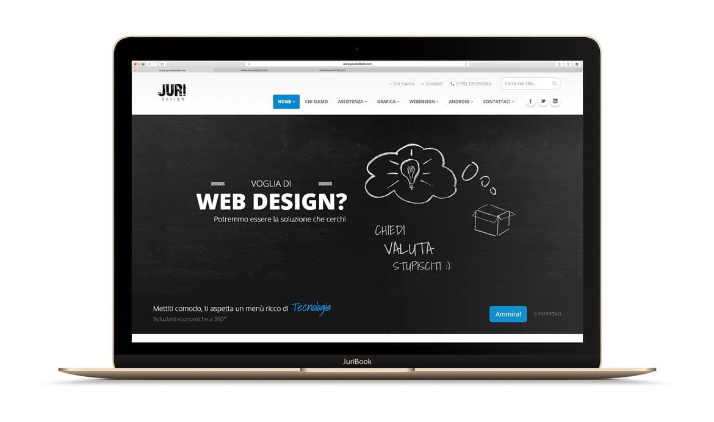 Juri Web Design siti internet assistenza computer pc mobile smartphone tablet